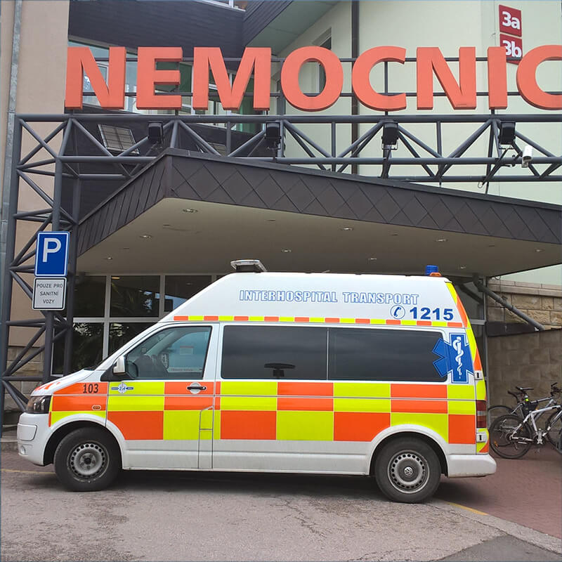 Transport mezi nemocnicemi